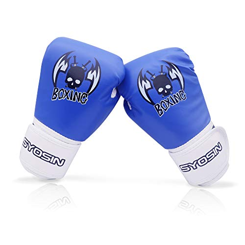 Echoss Kid Boxing Gloves 4 Oz Children Cartoon Sparring Boxing Toddler Traning Gloves PU Leather for Age 3 to 12 Years