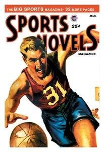 Sports Novels Magazine: March 1949 Fine art canvas print (20