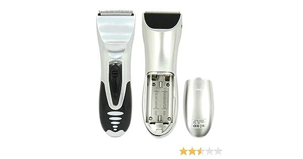 Profesional funciona con pilas niños hombre afeitadora eléctrica Razor barba cortapelos Trimmer Grooming: Amazon.es: Belleza