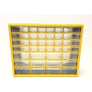 GFORGE HL3045-D 44 Drawer Heavy Duty Plastic Parts Organizer Drawer & Storage Box