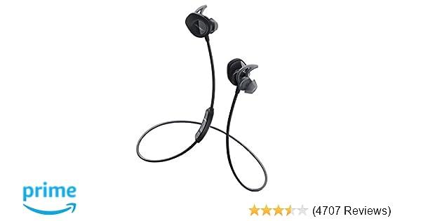 Amazon.com: Bose SoundSport Wireless Headphones, Black: Home Audio & Theater