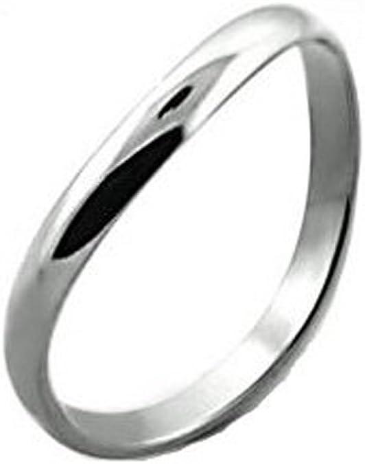 Anillo de banda, de la marca iJewelry2, de acero inoxidable, curvo, para hombre, unisex, de 3 mm: Amazon.es: Joyería