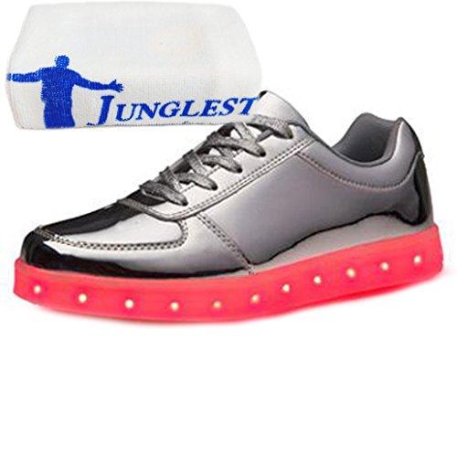 (Présents:petite serviette)JUNGLEST® - Baskets Lumin Argent