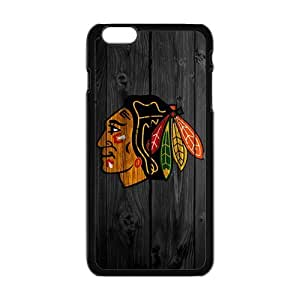 LJF phone case The Chicago Blackhawks Cell Phone Case for Iphone 6 Plus