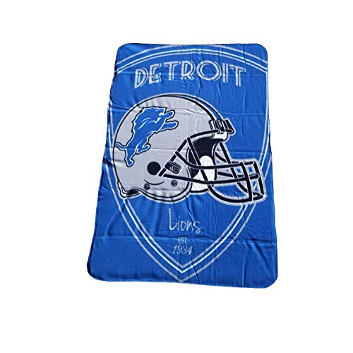 The Northwest Company NFL Shield Fleece Throw 40x60 (Detroit Lions)