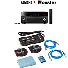 Yamaha RX-V2085 9.2-Channel AV Receiver with MusicCast + Energy 5.1 Take Classic Home Entertainment System (Set of Six, Black) Bundle