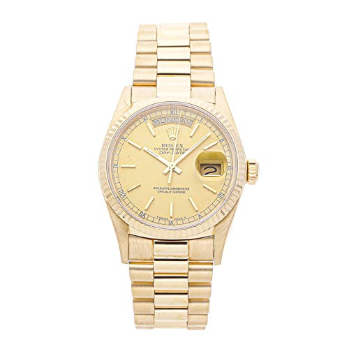 Rolex Day-Date Mechanical (Automatic) Champagne Dial Mens Watch 18038 (Certified Pre-Owned) ()