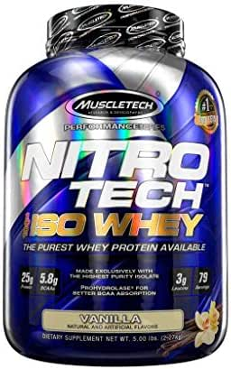 Protein & Meal Replacement: Nitro Tech Iso Whey
