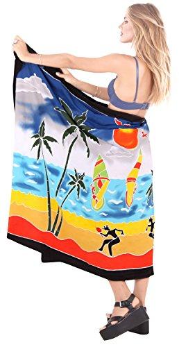 encubrir ropa de playa para mujer de la falda del abrigo del traje de baño traje de baño pareo pareo desgaste piscina traje de baño ropa de playa turquesa negro