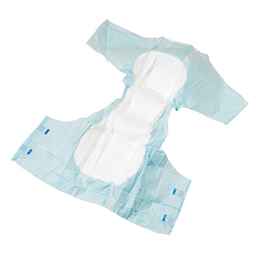 Patterson Medical - Pañal para adulto (absorbencia: 2650 ml, talla XL, unisex, 21 unidades): Amazon.es: Salud y cuidado personal