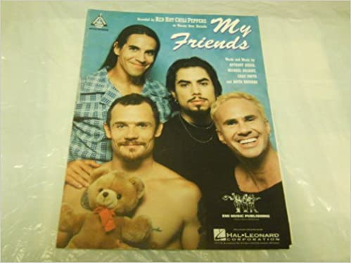my friends red hot chili peppers 1995 sheet music folder 577