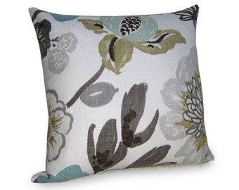 Derhamstore Kravet - Jellybean Designer Pillow Cover Aqua Br