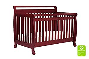 DaVinci Emily 4-in-1 Convertible Crib in Rich Cherry