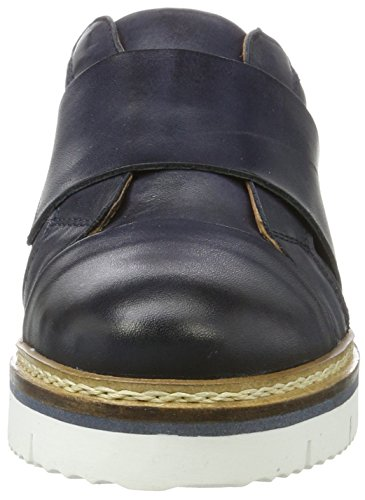 Donna navy Loafer Heavy 30 Blue Mocassini Cleated Bianco Blu BxqTOcw