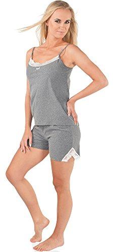 Italian Fashion IF Pijamas para mujer Bianca 0226 Melange