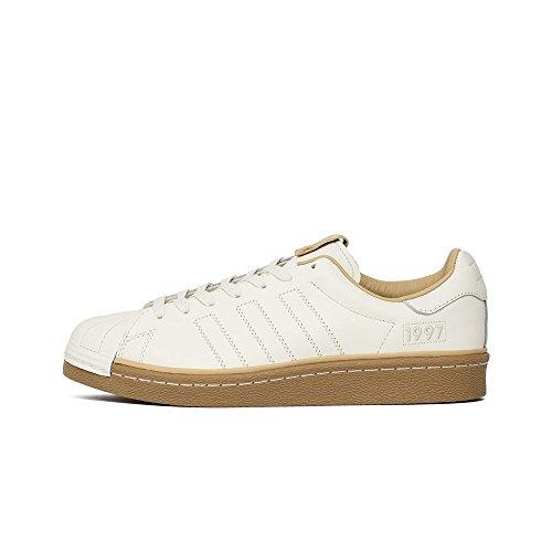 adidas - Consortium Superstar Boost X Kasina Taesahae - CM8002 - Colore: Beige-Bianco - Taglia: 45.3