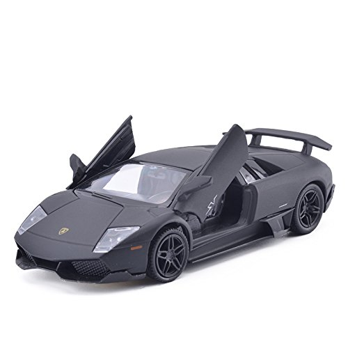 1:36 Scale Lamborghini Murcielago Car Model Diecast Toy Vehicles (Matte Black)