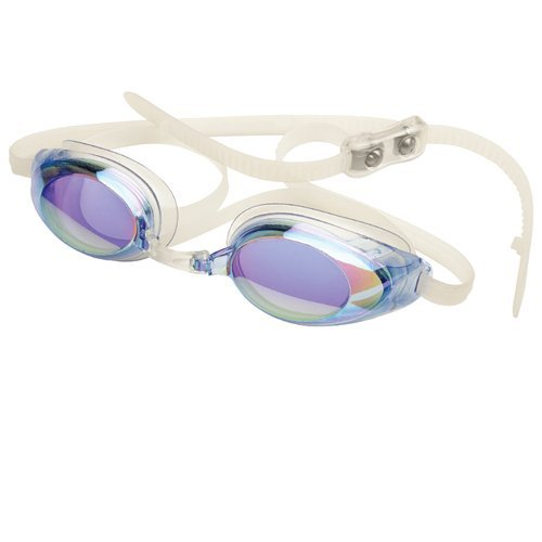 (FINIS Lightning Goggles (Blue/Mirror))