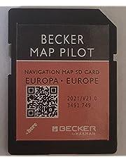 Mercedes Becker Map Pilot GPS SD-kaart Europa V21 2021 (BE9077, M013, M041, M045, M046, M050, M051)