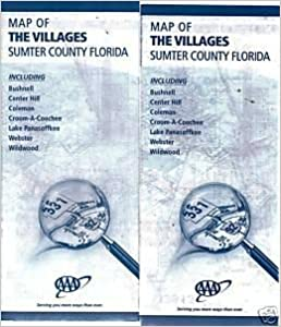 Map Of The Villages Florida.Ocala The Villages Fl Street Map American Map Corporation