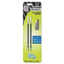 Zebra Pen - Z-Mulsion Ex Refills, 10.mm, 2/PK, Black, Sold as 1 Package, ZEB87312