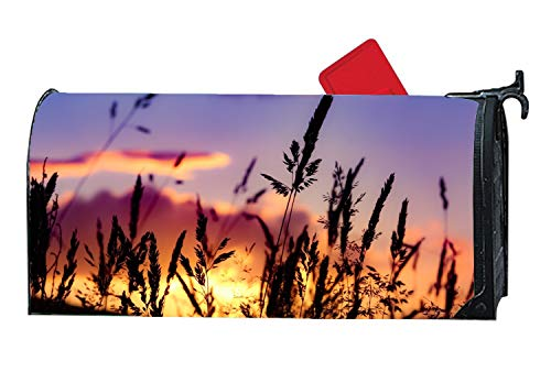 (BYUII Magnetic Mailbox Cover - Autumn Themed, Decorative Mailbox Wrap for Standard Size)