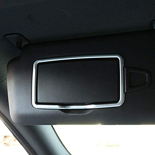 ABS Chrome Car Interior Make Up Mirror Decoration Trim Accessories for Mercedes benz A C CLA GLC GLE ML GLA Class W204 W205 X204