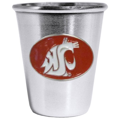 (NCAA Washington State Cougars Steel Shot)