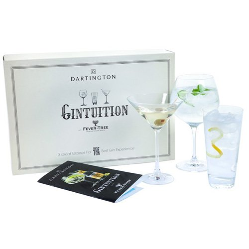 -[ Dartington Crystal Gin Glass, Pack of 3  ]-