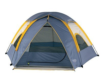 Wenzel Alpine 8.5 X 8-Feet Dome Tent (Light Grey/Blue/Gold), Outdoor Stuffs