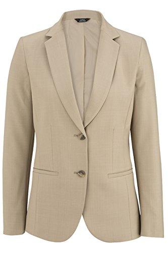 Ed Garments Ladie's Intaglio Suit Coat, Vintage Khaki, 12 R