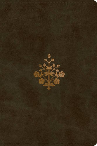 ESV Large Print Bible (TruTone, Olive, Branch - Olive Mall Branch