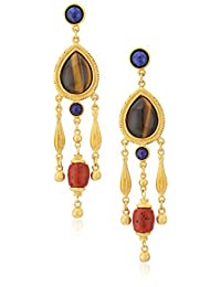 Ben-Amun Jewelry Silk Road Chandelier Drop Earrings