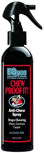 (EQyss Chew Proof It Spray (8oz) - Guaranteed to Stop Your Pet from Chewing)