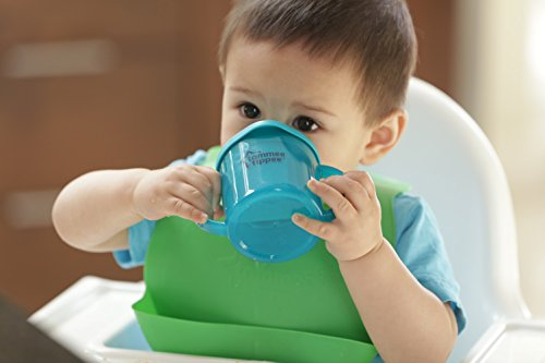 Tommee Tippee Easi Roll Drip Catcher Baby Bib, 7+ months - Blue and Green, 2 Count by Tommee Tippee (Image #6)