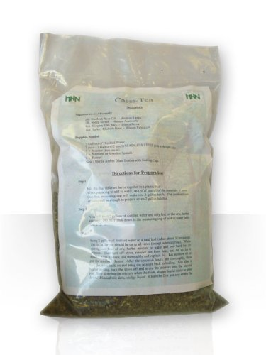 Essiac Tea, (Cassi Tea), Natural Herbal Supplement, 3.3 Lb Bulk Concentrated Tea Powder,with raw ingredients. Makes 14 Gallons ()
