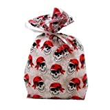 Pirate Skull Cellophane Party Bags, Health Care Stuffs