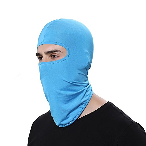 - CapsA Novelty Face maskfor Men Women Face Shield for Music Festivals Dust Protection Simple Solid Face Mask for Riding Outdoors Cycling Motorcycle Head Scarf Neck Balaclava Headband