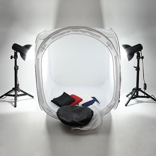 13 opinioni per Mvpower Kit Tenda Fotografica Per Luce Studio, Cubo Fotografia 60 x 60 x 60cm