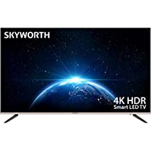 """Skyworth G2A Series 55"""" Premium 4K Ultra HD HDR A53 Quad-Core Android TV Smart ATSC HDMI USB Supported 55G2A"""