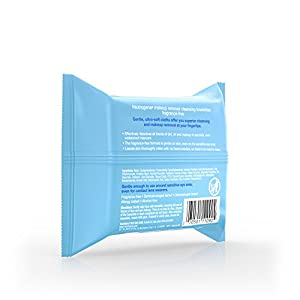 Neutrogena Makeup Remover Cleansing Towelettes, Fragrance Free, 25 Count