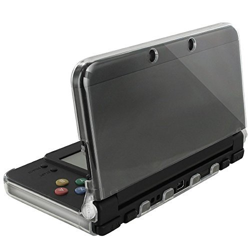 - Orzly - InvisiCase for New 3DS Console (2015 Model) - 100% Clear Protective Cover Shell for The New 2015 Model of Nintendo 3DS Handheld Games Console (New 3DS / N3DS) - Transparent