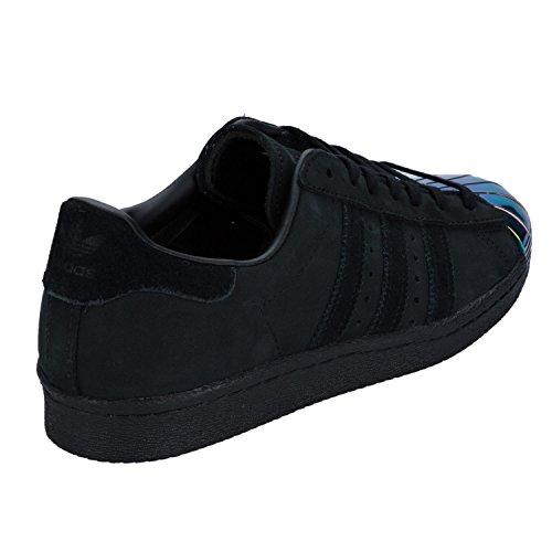 Basse Metal Adidas Ginnastica 80s Superstar Black Scarpe Petrol Da Donna HEEYw