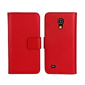 PIZU Pu Leather Case for Samsung Galaxy S4 Mini i9190 Red
