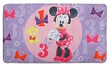 """Disney Minnie Mouse""""Bowtique"""" Decorative Bath Mat, Pink"""