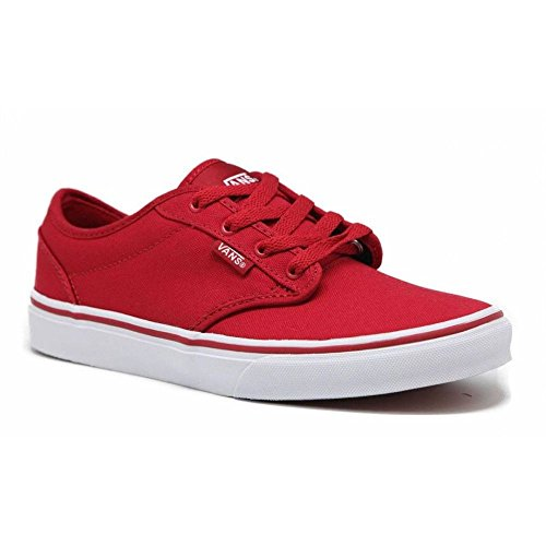 Price comparison product image Vans VZNR5GH Kid's Atwood Skate Shoes, Red/White, Size 3 M US Little Kid