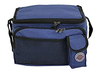 """Transworld Durable Deluxe Insulated Lunch Cooler Bag (Many Colors and Size Available) (12""""x10""""x8 1/2"""", Navy)  (B0023TOLTW)   Amazon price tracker / tracking, Amazon price history charts, Amazon price watches, Amazon price drop alerts"""