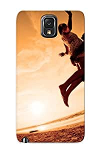 High Quality KJrRuPt1657KRbtV Romantic Couple At The Beach Tpu Case For Galaxy Note 3