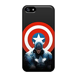 Iphone Cover Case - Captain America Protective Case Compatibel With Iphone 5/5s