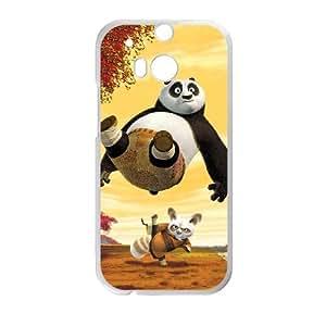 HTC One M8 Cell Phone Case White Kung Fu Panda 002 LJ0311009
